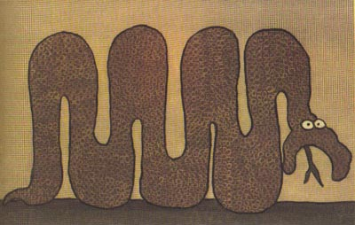El hombre y la serpiente |Popular (Ancares)|