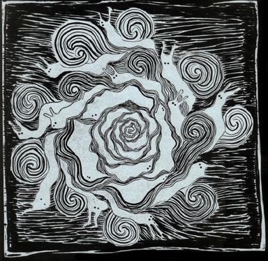 El caracol y el rosal |Hans Christian Andersen| [fragmento]